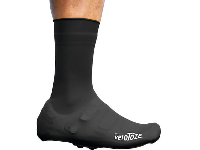 veloToze Silicone Snap Overshoes Men, negro
